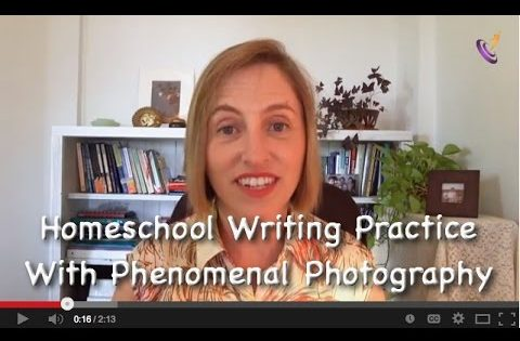 Homeschool Writing Practice with Phenomenal Photography