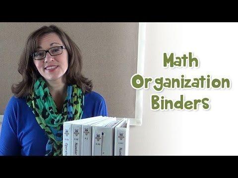 Teaching Materials, Teaching Materials-Homeschool Math Organization Binders, Family Homeschooler