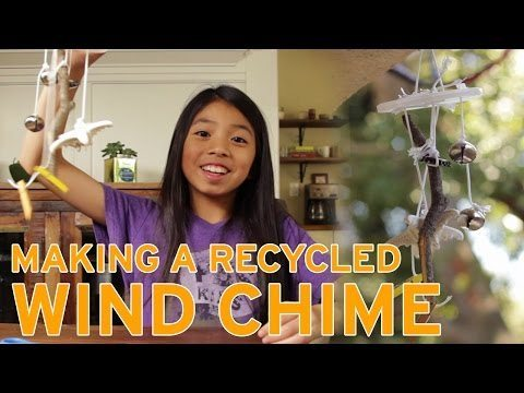Homeschool Recycled, Homeschool Recycled Wind Chime-Best Recycling, Family Homeschooler