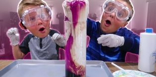 Making Fluffy Slime Eruption Fun Kids Science Experiment