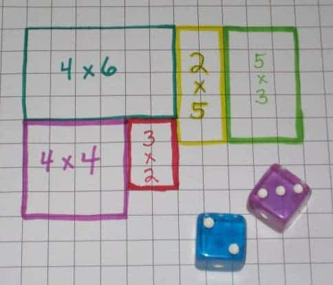 Geometry Math Games, Geometry Math Games For Kids : Playing The Surface Area Game, Family Homeschooler