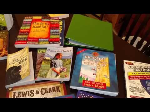 Unboxing Homeschool Curriculum