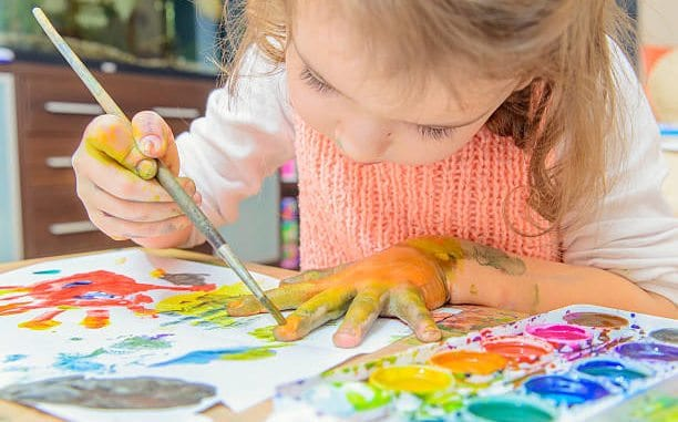 Preschool Art Lessons, Preschool Art Lessons in Homeschool Are Essential, Family Homeschooler